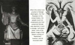Presiden George Washington & Baphomet