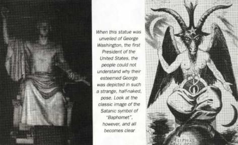 Presiden George Washington & Baphomet